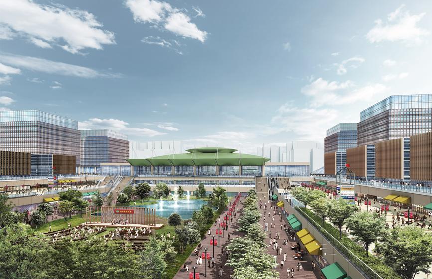 河北雄安新区起動区都市設計国際プロポーザル