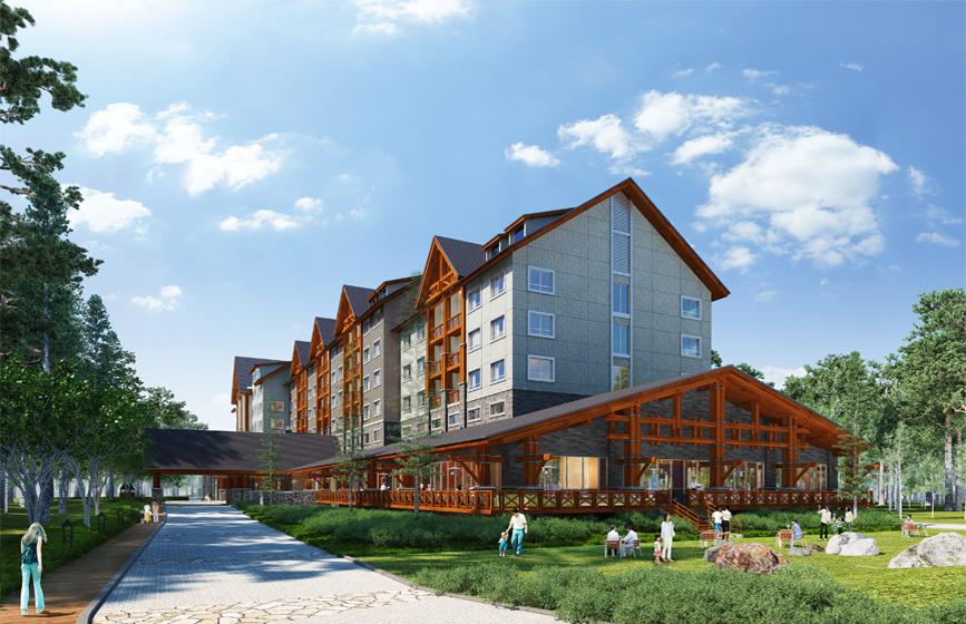 長白山森林温泉リゾート ヒルトン温泉ホテル