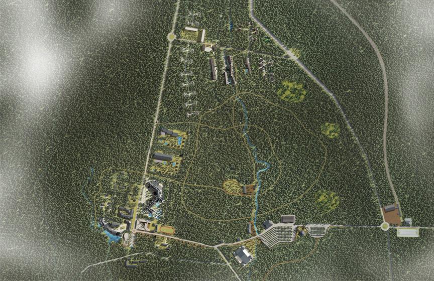 長白山林海温泉部落